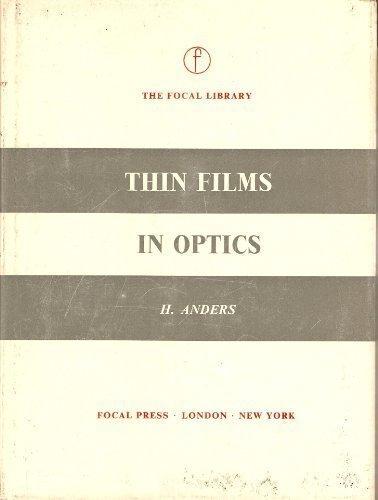 9780240447933: Thin Films in Optics