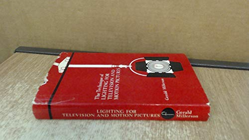 9780240507224: Technique of Lighting for Television and Motion Pictures (Library of Communication Techniques)