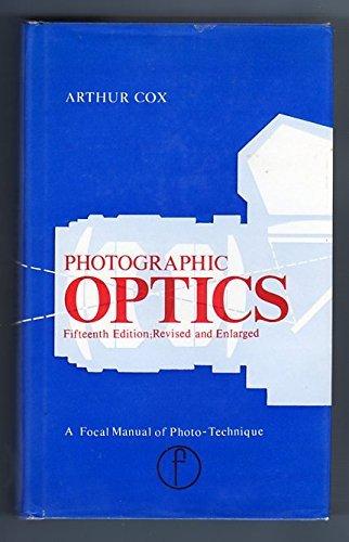 arthur cox - optics the technique of definition - AbeBooks
