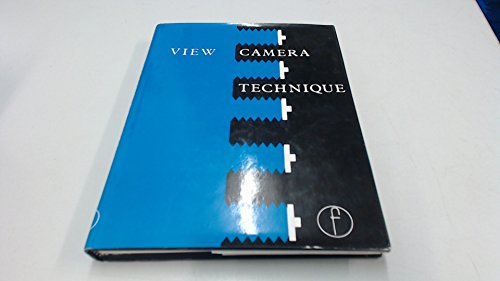 9780240510866: View camera technique