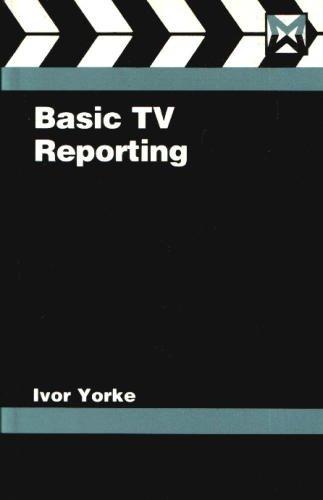 9780240512839: Basic TV Reporting (Media Manuals)