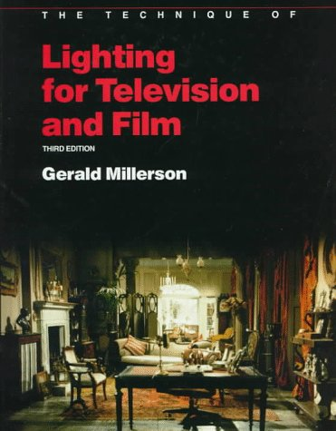 9780240512990: The Technique of Lighting for Television and Film (Library of Communication Techniques)