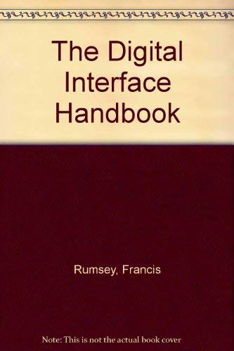 9780240513331: The Digital Interface Handbook