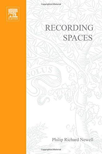 9780240515076: Recording Spaces