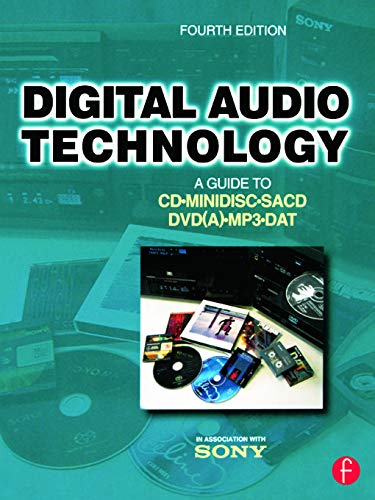 9780240516547: Digital Audio Technology: A Guide to CD, MiniDisc, SACD, DVD(A), MP3 and DAT