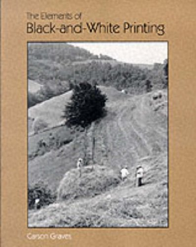 9780240517957: The Elements of Black-and-White Printing