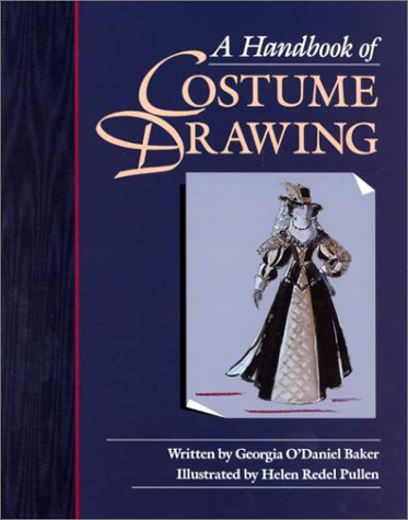 9780240801124: Handbook of Costume Drawing, A