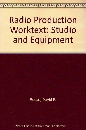 9780240801797: Radio Production Worktext: Studio and Equipment