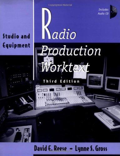 9780240802831: Radio Production Worktext