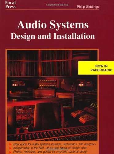 9780240802862: Audio Systems Design and Installation
