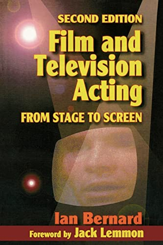9780240803012: Film and Television Acting: From stage to screen