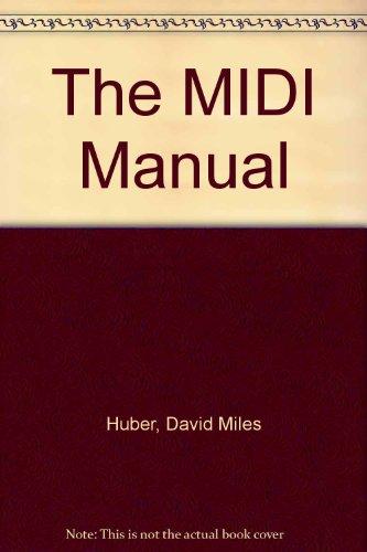 9780240803203: The MIDI Manual (Audio Engineering Society Presents)