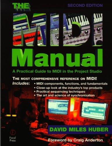 9780240803302: The MIDI Manual, Second Edition (Audio Engineering Society Presents)