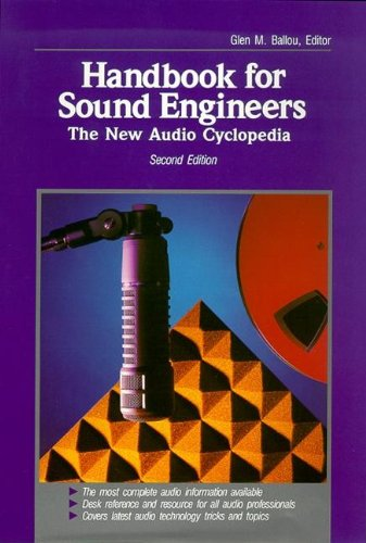 9780240803319: Handbook for Sound Engineers: The New Audio Cyclopedia