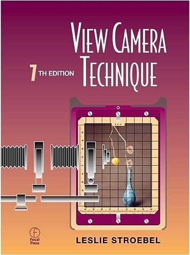 9780240803456: View Camera Technique