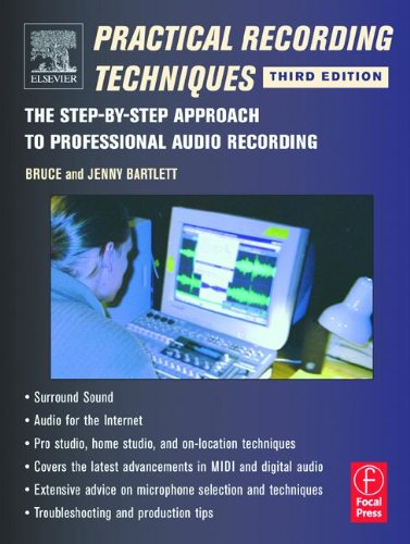 9780240804736: Practical Recording Techniques, Third Edition