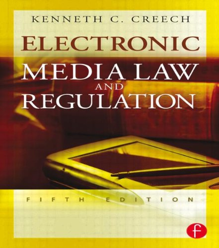 9780240808413: Electronic Media Law and Regulation