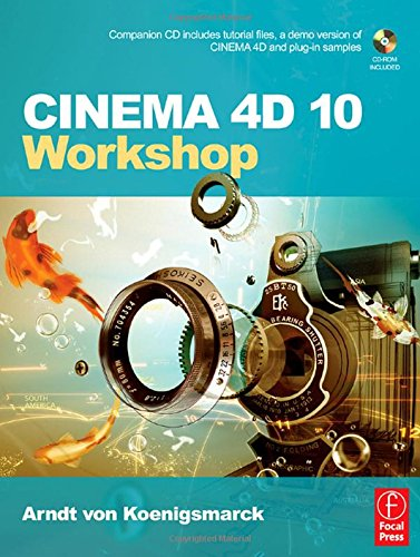 9780240808970: CINEMA 4D 10 Workshop
