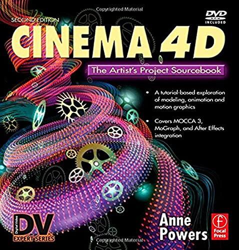 9780240809533: Cinema 4D: The Artist's Project Sourcebook (Digital Media Academy Series)