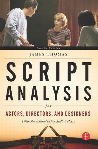9780240810492: Script Analysis for Actors, Directors, and Designers