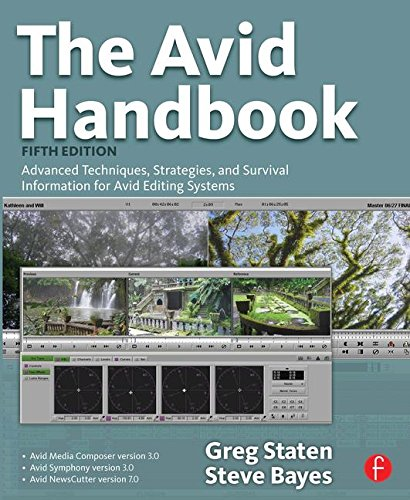9780240810812: The Avid Handbook: Advanced Techniques, Strategies, and Survival Information for Avid Editing Systems