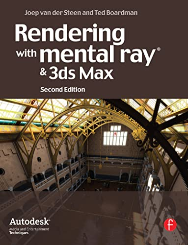9780240812373: Rendering with mental ray and 3ds Max (Autodesk Media and Entertainment Techniques) (Portuguese Edition)