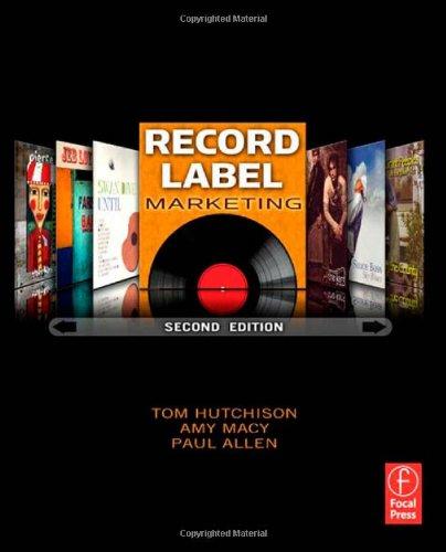 9780240812380: Record Label Marketing