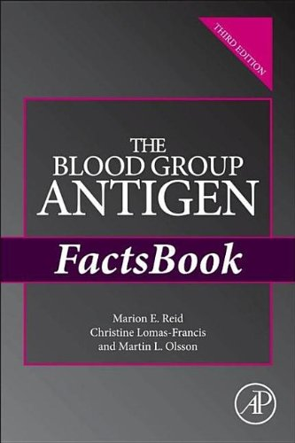 9780240821306: The Blood Group Antigen Factsbook