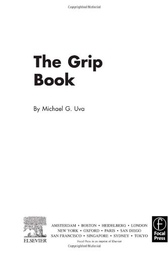 9780240852331: The Grip Book