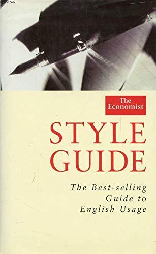"""9780241001790: """"Economist"""" Style Guide (""""Economist"""" Books)"""