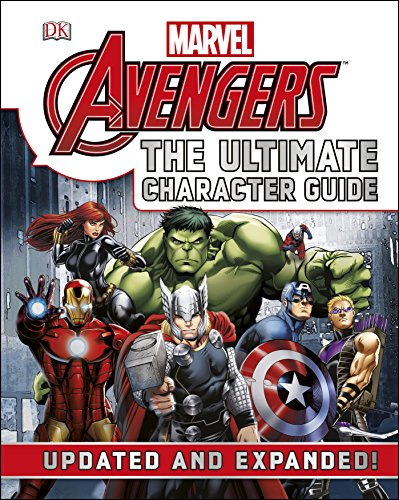 Marvel The Avengers The Ultimate Character Guide (Hardback)