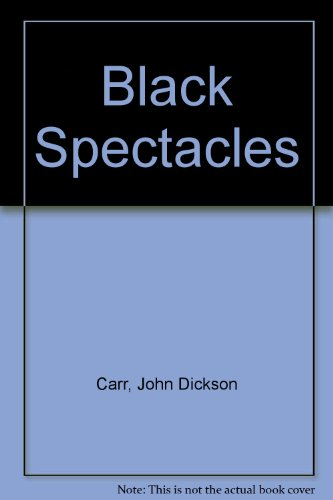 9780241016060: Black Spectacles