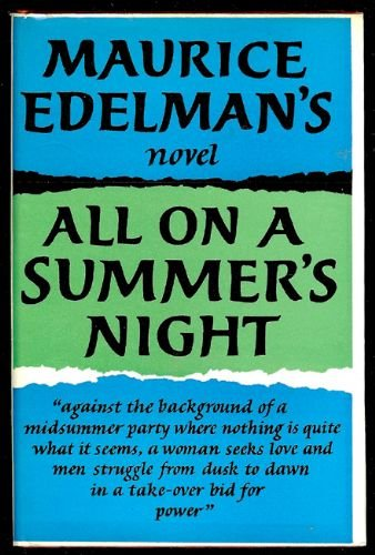 All on a Summer's Night (SIGNED): Edelman, Maurice