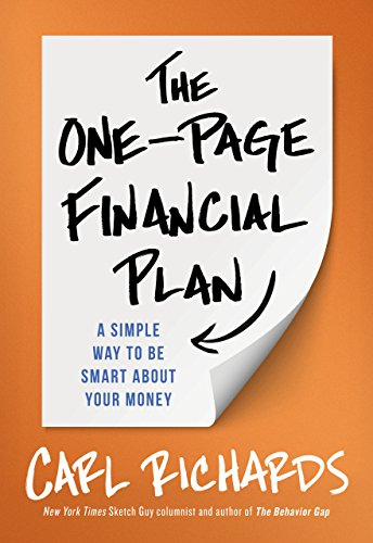 9780241019443: The One-Page Financial Plan: A Simple Way To Be Smart About Your Money