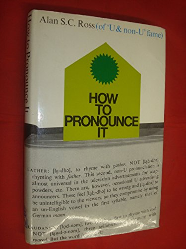 9780241019672: How to Pronounce It