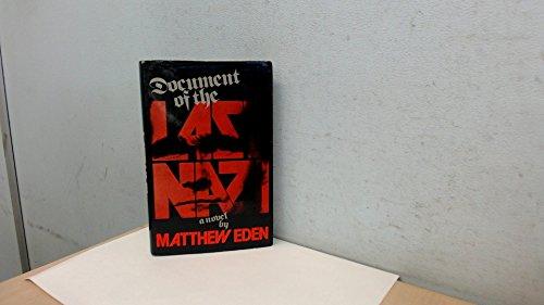 Document of the Last Nazi: Eden, Matthew