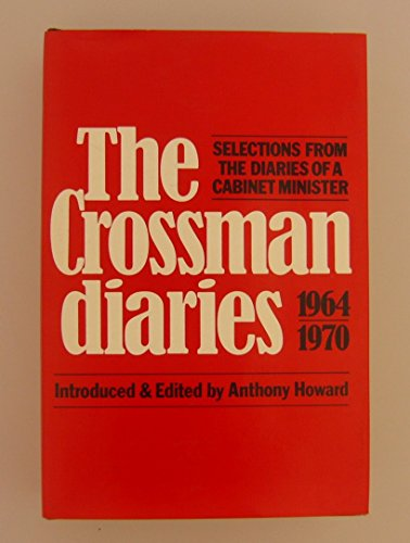 9780241101421: Diaries of a Cabinet Minister: Selections, 1964-70