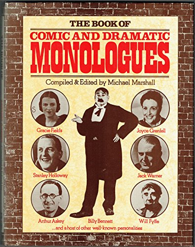9780241107386: Book of Comic and Dramatic Monologues