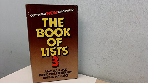 9780241109526: Book of Lists: v. 3