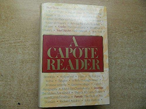 9780241123720: A Capote Reader