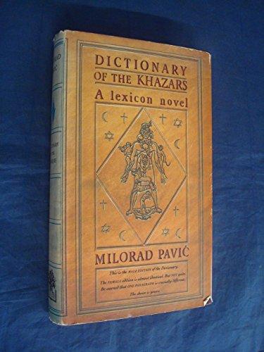 9780241125892: The Dictionary of the Khazars
