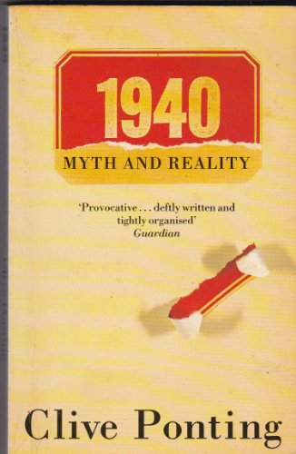9780241126684: 1940: Myth and Reality