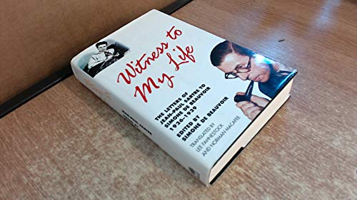 9780241133361: Witness to My Life: The Letters of Jean-Paul Sartre to Simone de Beauvoir, 1926-39