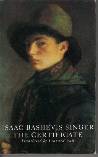 The Certificate: Isaac Bashevis Singer,