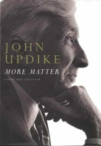 9780241140918: More Matter: Essays and Criticism