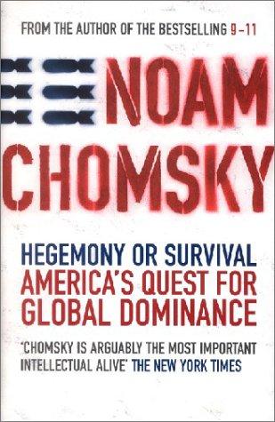 9780241142509: Hegemony or Survival