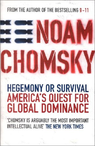9780241142509: HEGEMONY OR SURVIVAL: America's Quest for Global Dominance
