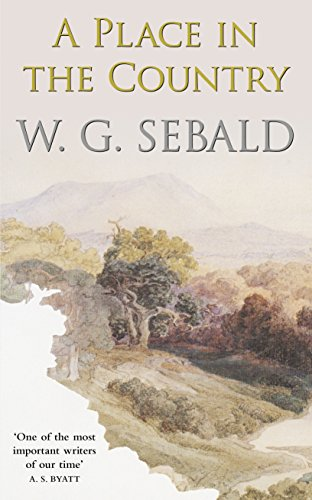 A Place in the Country (Mint First U.K. Edition): W.G.Sebald
