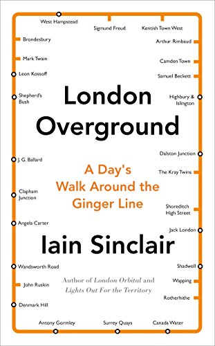 9780241146958: London Overground: A Day's Walk Around the Ginger Line