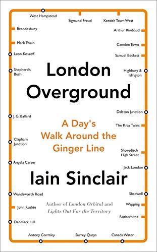 9780241146958: London Overground: A Day's Walk Around the Ginger Line
